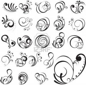 modèles tatouage femme arabesque