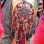 tatouage indien femme américain
