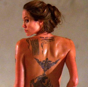 tatouage angelina jolie