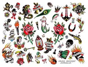 tatouage flash pour femme
