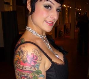 tatouage femme bras