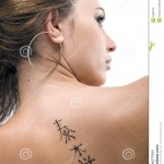 tatouage femme dos prix